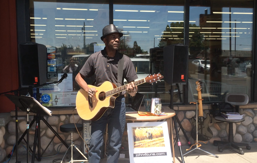 Playing at Terrebonne Thriftway